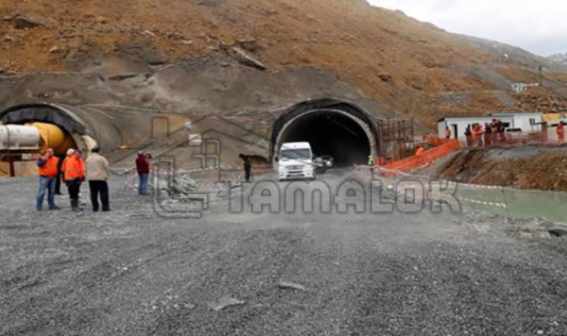 Turkey opens the second longest tunnel in the world in August 2016