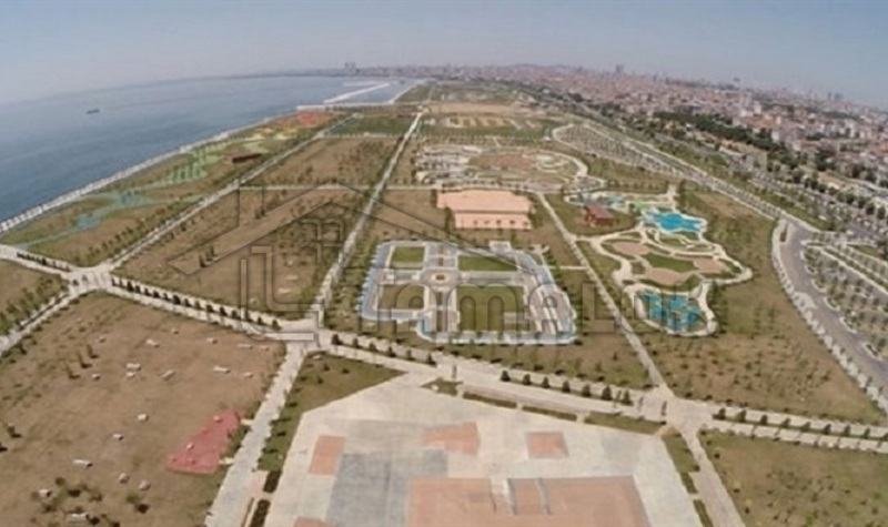 Opening of the largest promenade park in the world in Maltepe in Istanbul
