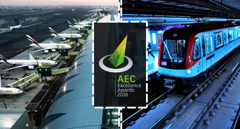 """Turkish Projects Entered the """"AEC Excellence Awards 2017"""""""