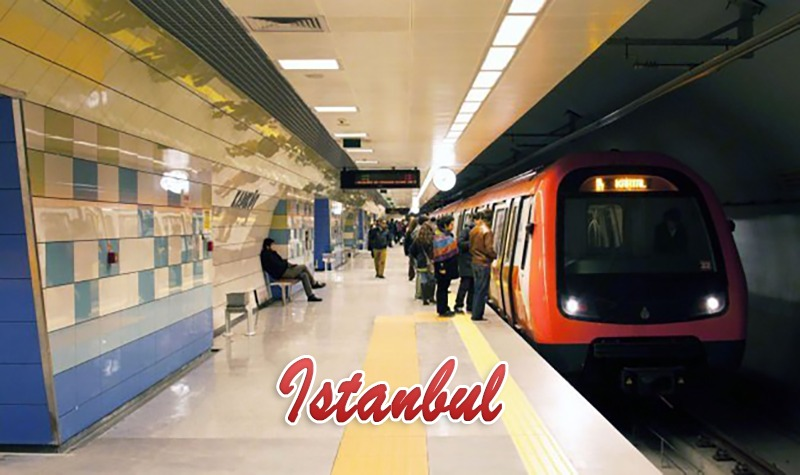 Soon … new metro lines connect the two parts of the city of Istanbul